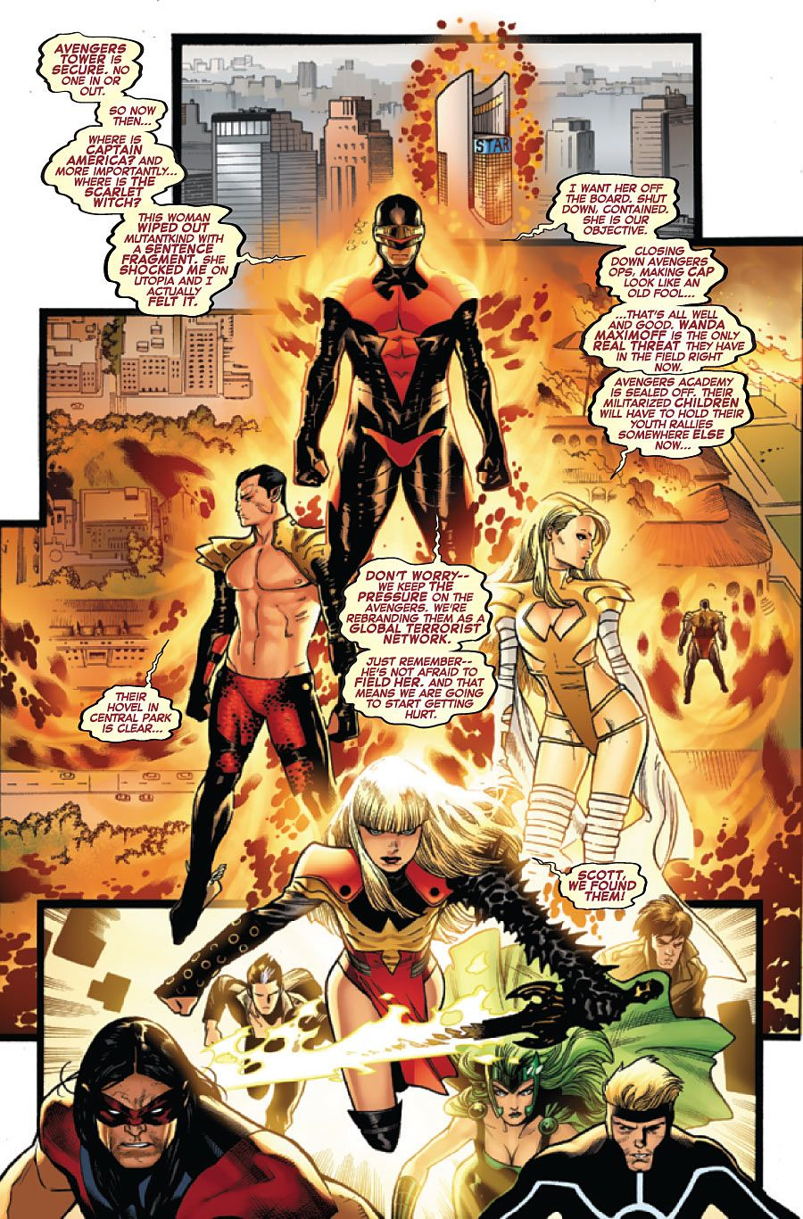 Avengers Vs X Men 7 Page 8 Of 10 Art By Oliver Coipel Marvel Comics Art Comics Marvel Heroes