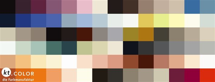 kt.color and le corbusier colours Specialty paints
