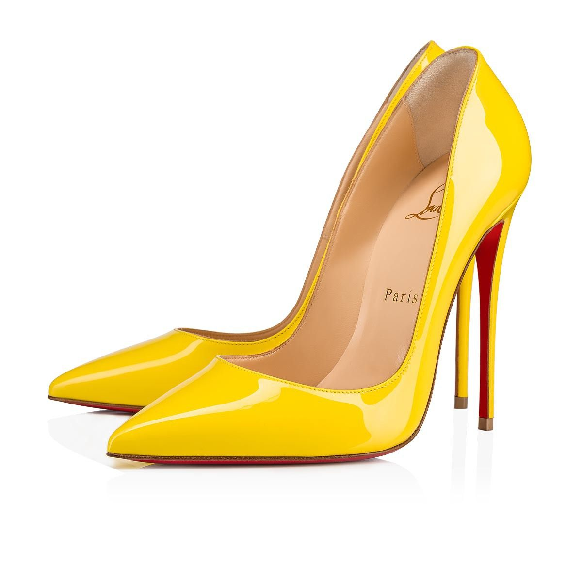 ba985a442e9 So Kate 120 Yellow Queen Patent Leather - Women Shoes - Christian ...