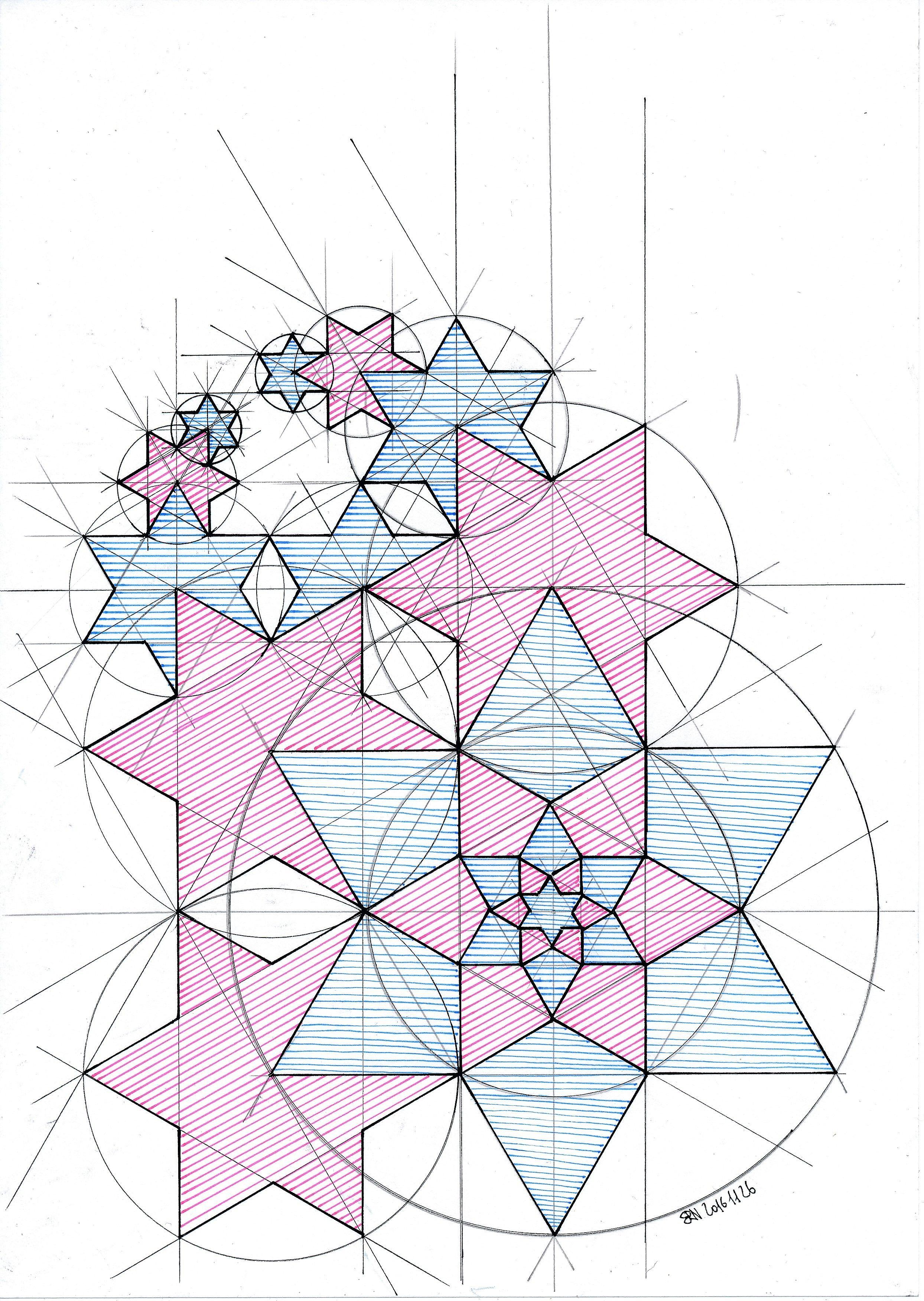 Geometric Circle Patterns Amazing Decorating
