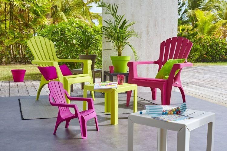 Du mobilier de jardin GIFI en plastique | Terrasse | Pinterest ...