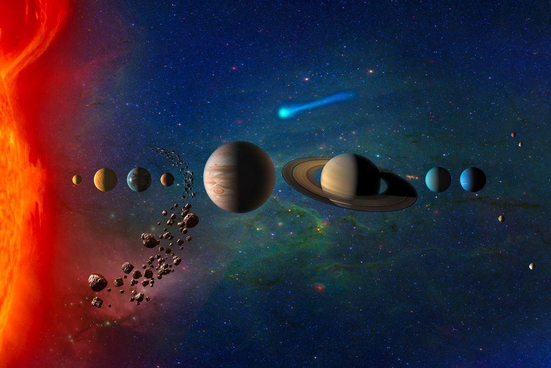 10 Curiosidades Sobre El Sistema Solar Que Te Fascinarán Modelo Del Sistema Solar Sistema Solar Cinturón De Asteroides