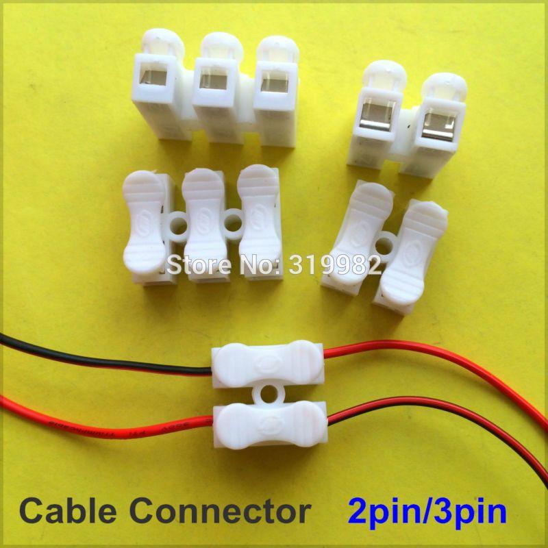 Cute  st cke Spring Kabel Clip self lock presse schieben schnell P P drahtb gel anschluss Verdrahtung Terminal f r auto led streifen lampe