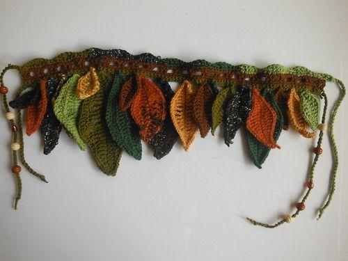 Earthy crochet hip wrap                                                       …