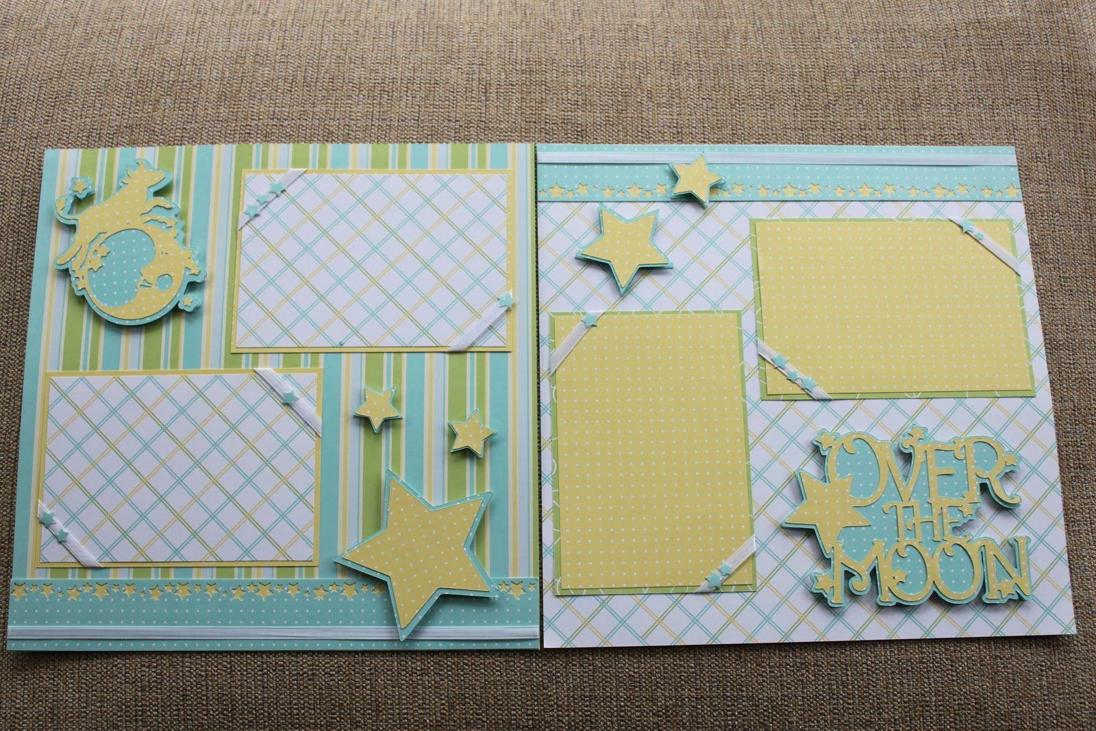 Baby Boy Scrapbook Page Ideas Nonnas Craft Corner Another