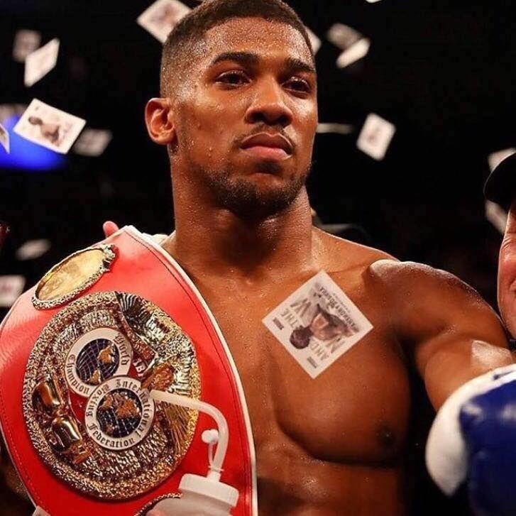 Anthony Joshua #andthenew #AJ #stayhungry #boxing