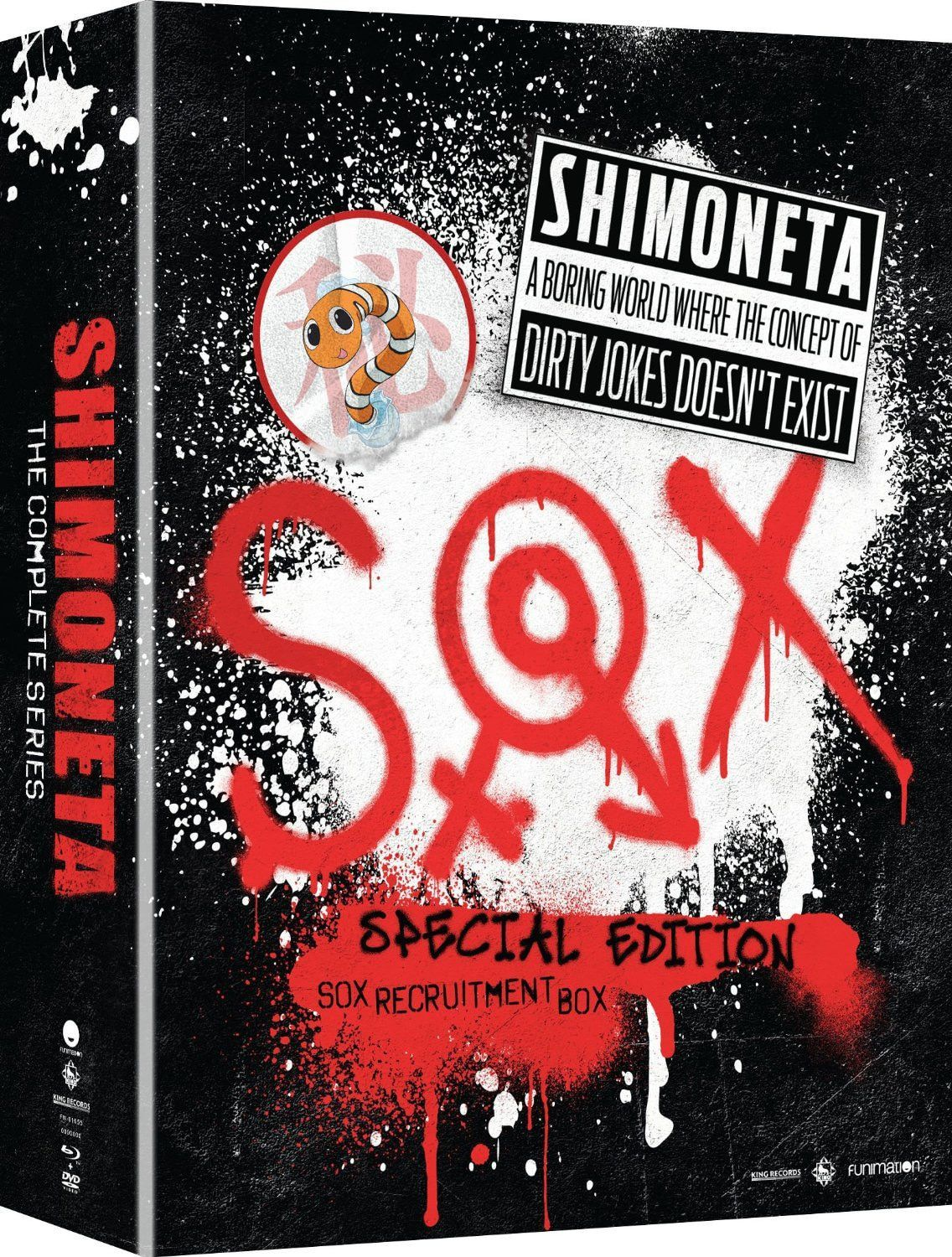 Shimoneta: A Boring World Where The Concept Of Dirty Jokes Doesn't Exist: The Complete Series