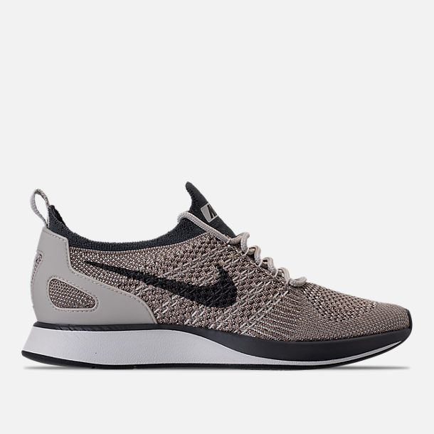 9b40e91f1f399 Right view of Women s Nike Air Zoom Mariah Flyknit Racer Casual Shoes in  Pale Grey Dark Grey Summit White