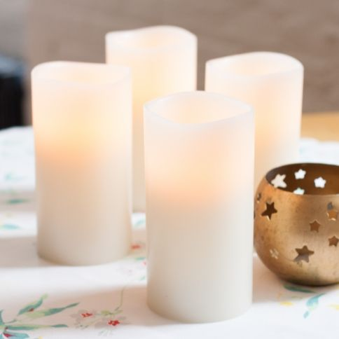 Flameless Candles With Remote Costco Captivating Lights  Flameless Candles  Scented  Ivory 3X6 Flameless