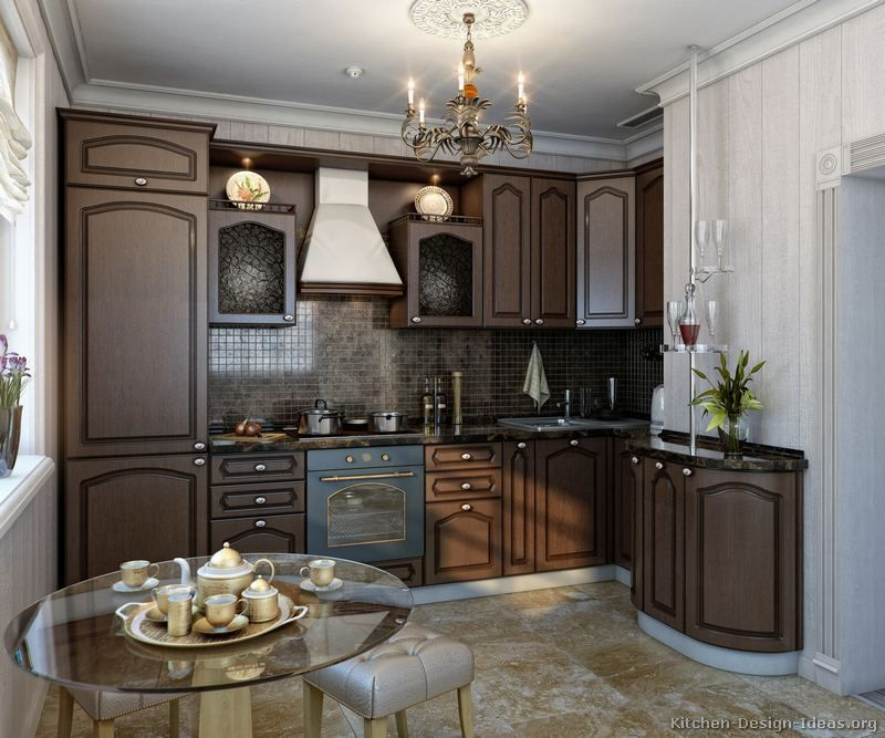 Kitchen Idea of the Day Traditional Italian
