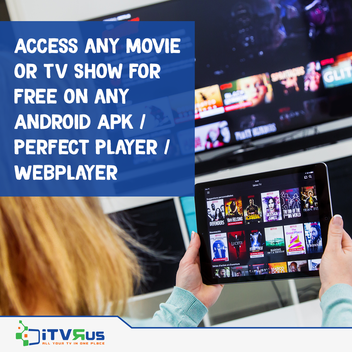 Get full access to over 1300 iTVRUS streams library along