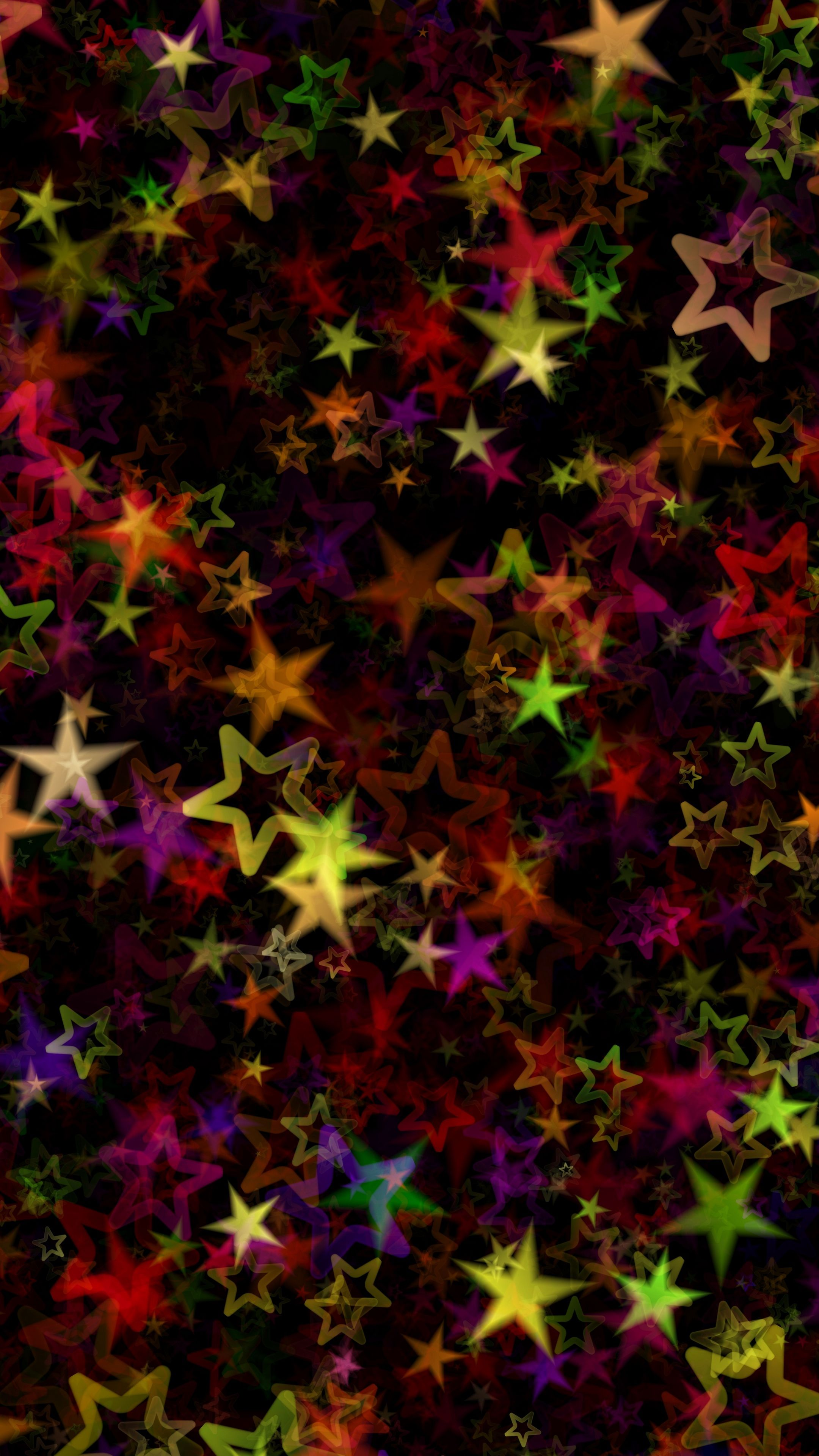 Abstract Stars Colorful Art Android Wallpapers 4k Hd Colorful Wallpaper Cute Patterns Wallpaper Abstract Wallpaper