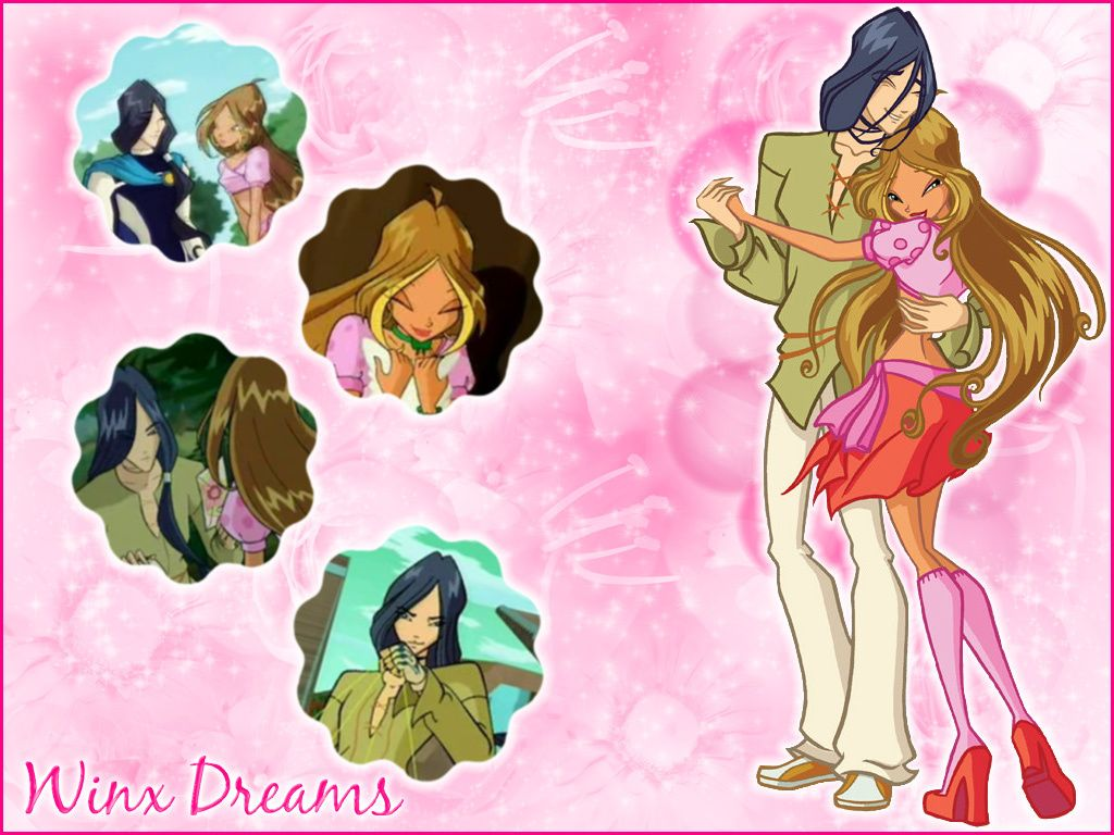 Image result for winx club flora and helia
