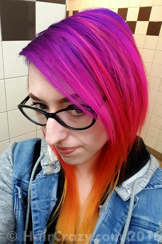 Park Art|My WordPress Blog_Adore Purple Hair Dye Review