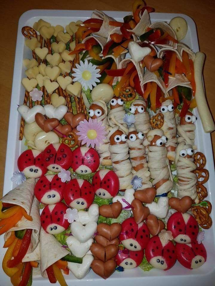 Kinder platte - HEALTHY CENTER - My Blog #fingerfoodkinder