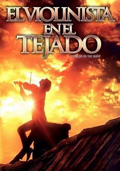 El Violinista En El Tejado 1971 Carteles De Cine Peliculas Cine Afiche De Cine
