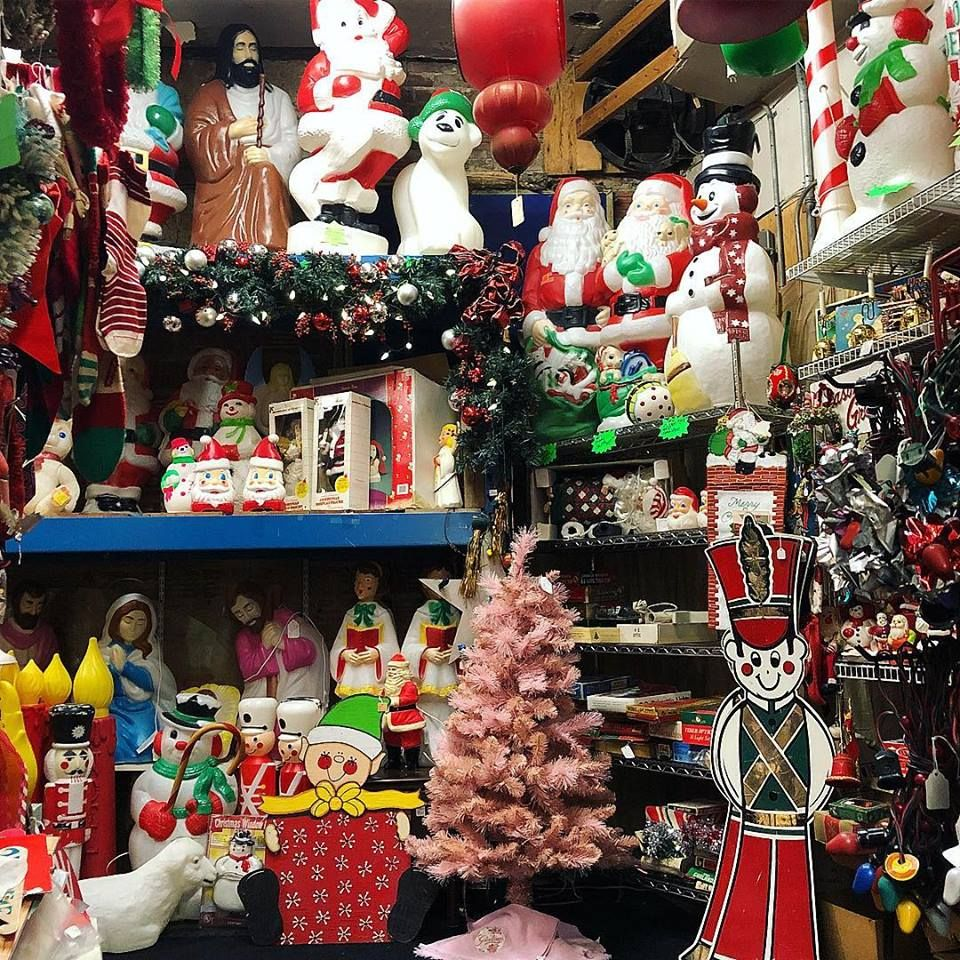 A Very Vintage Christmas at Flower Child in Cleveland