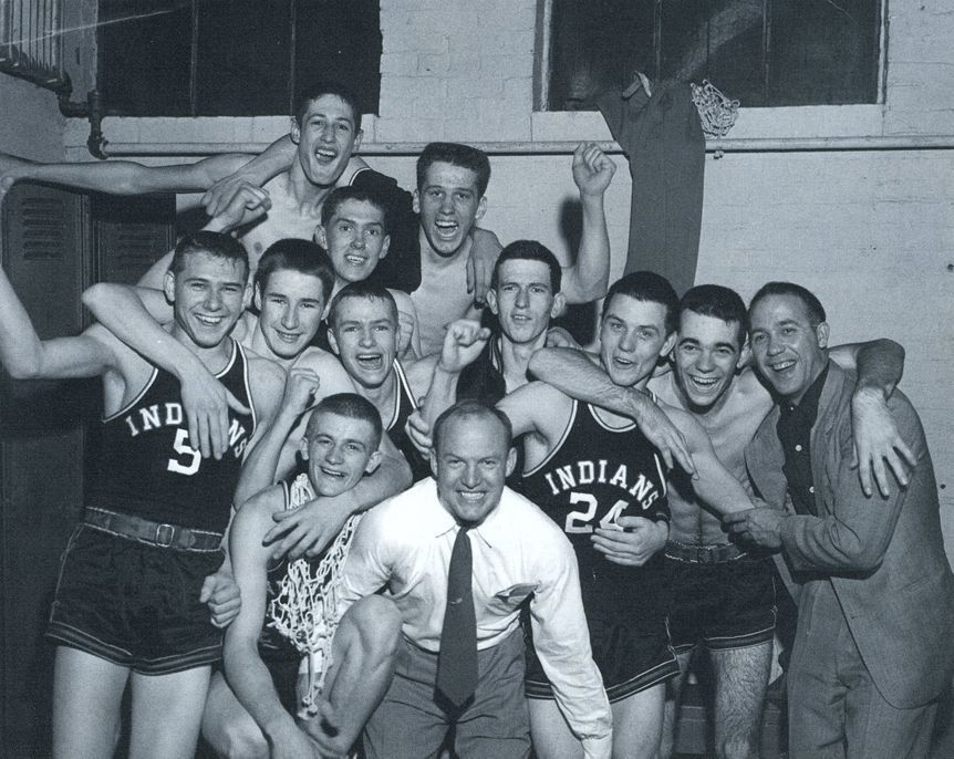"1954 Milan Indians (the movie ""Hoosiers"" was based on this team)"