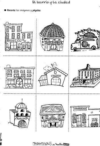 Actividades Escolares: imagenes para trabajar el campo y la ciudad ...