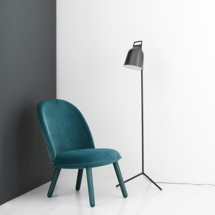 Normann copenhagen grey stage floor lamp naken interiors