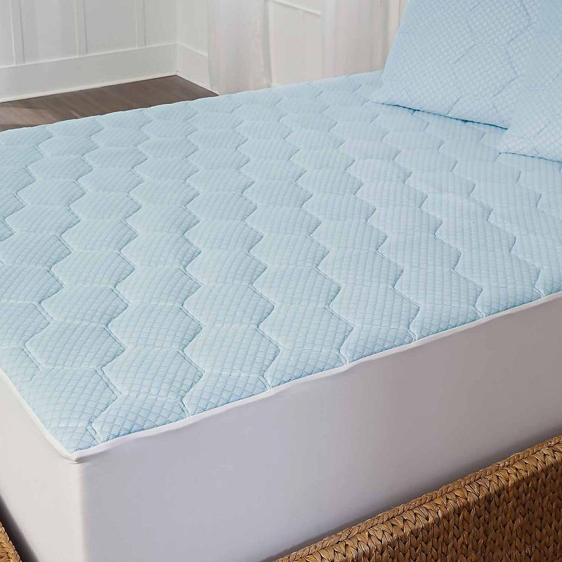 Arctic Sleep By Pure Rest Cooling Gel Memory Foam Mattress Pad