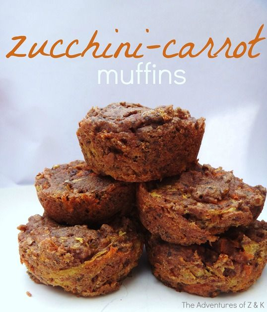 Zucchini-Carrot Muffins | The Adventures of Z & K #glutenfree #lowfodmap