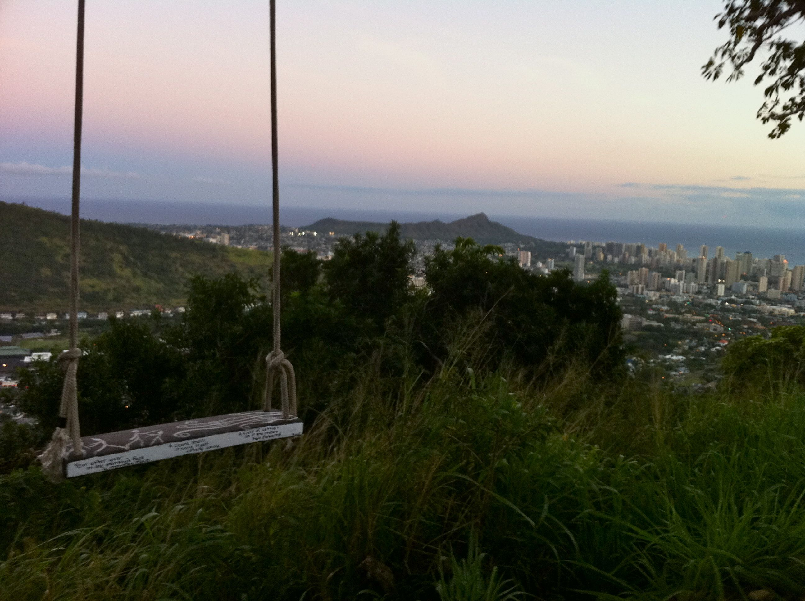 Swing On Mount Tantalus Hawaii Favorite Places Spaces