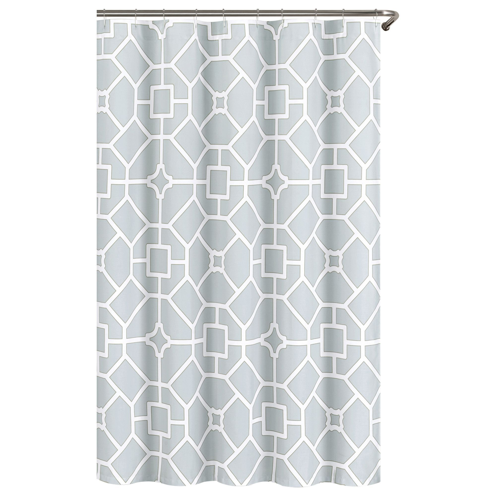 Gramercy Cotton Polyester Shower Curtain Fabric Shower Curtains