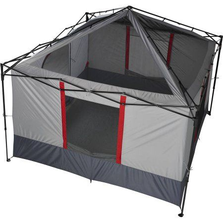 Ozark Trail 6 Person Connectent Straight Leg Canopy Sold Separately 6 Person Tent Walmart Com Canopy Outdoor Canopy Tent Family Tent Camping