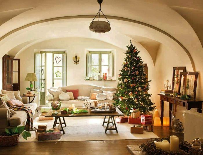 Schon Weihnachtsbaum Schmücken Kleine Wohnung