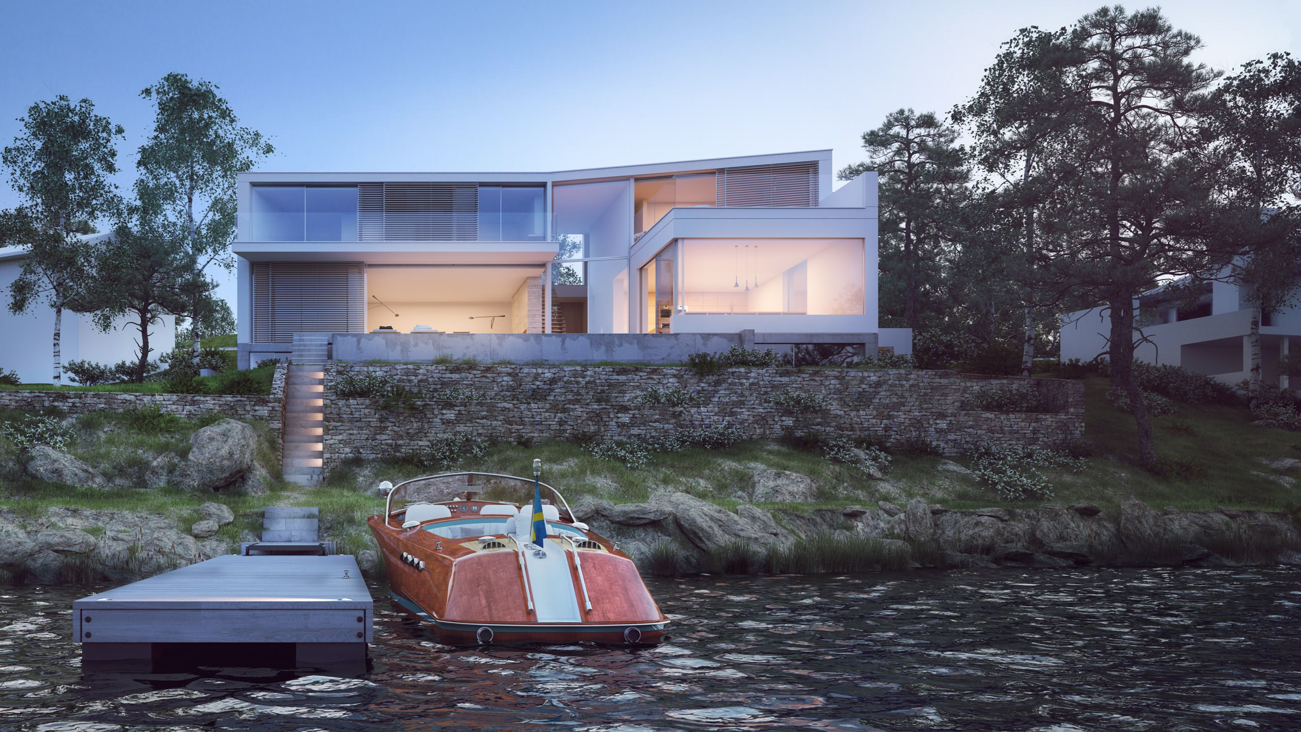 Sweden Houses Design Private House Stockholm Sweden Strom Architects Modern