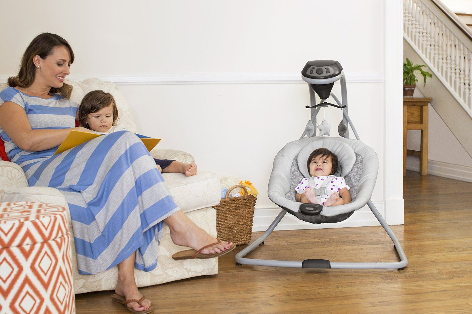 Graco simple sway baby swing abbington advertise anything