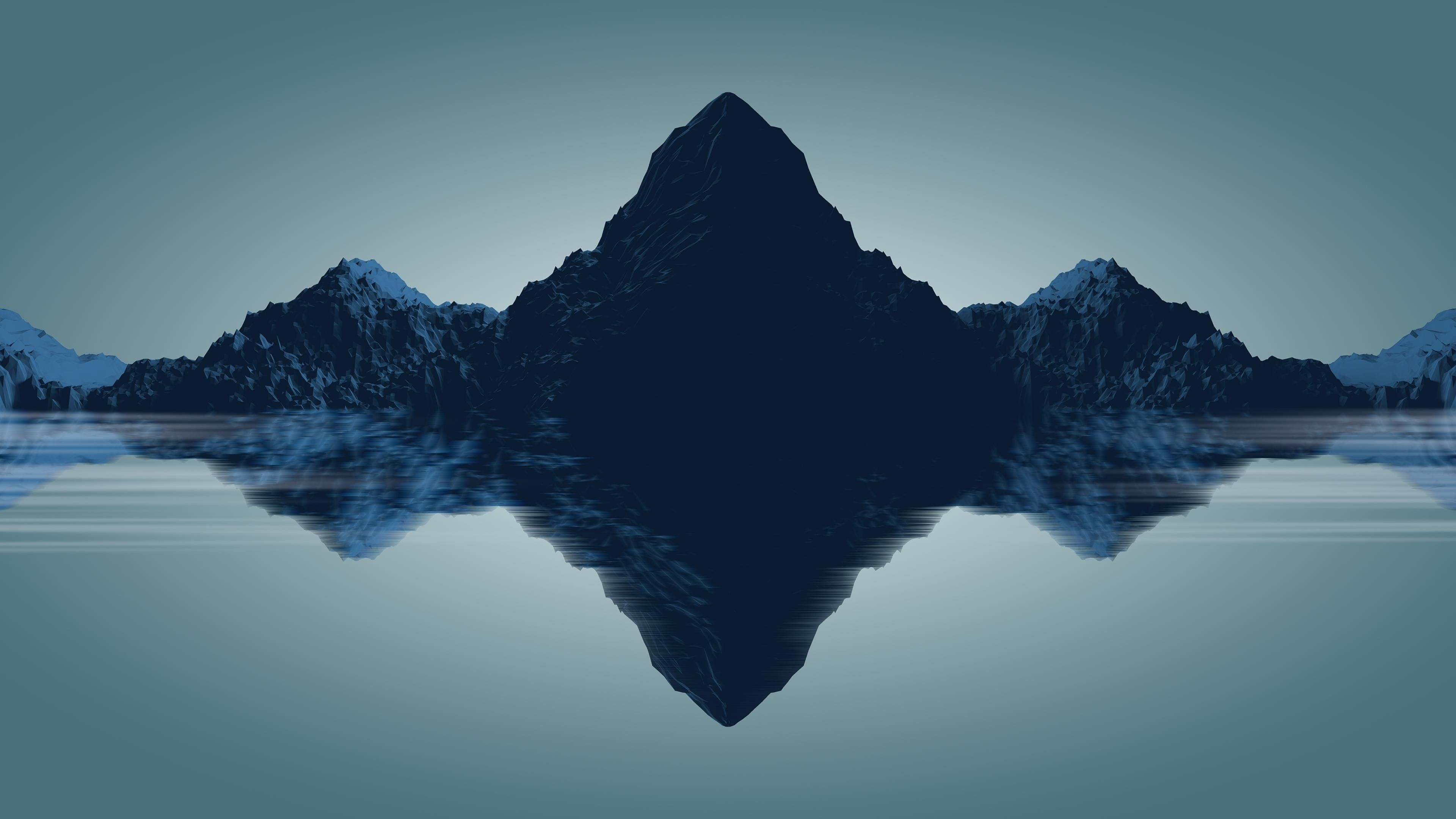 Reflection Minimalist 4k Wallpaper [3840 x 2160] en 2020
