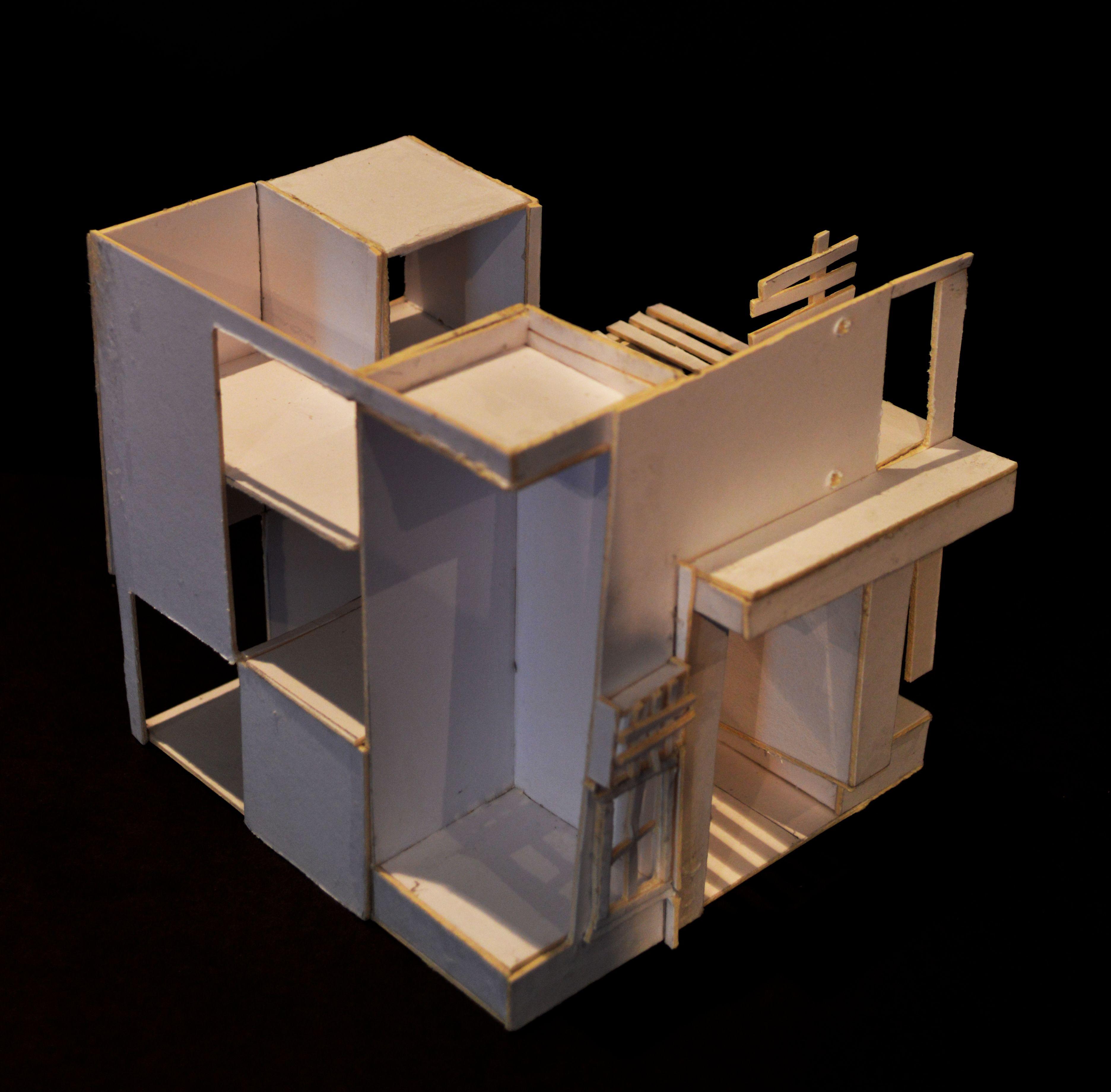 final model updated architecture design space cube model grid arch 1342 design. Black Bedroom Furniture Sets. Home Design Ideas