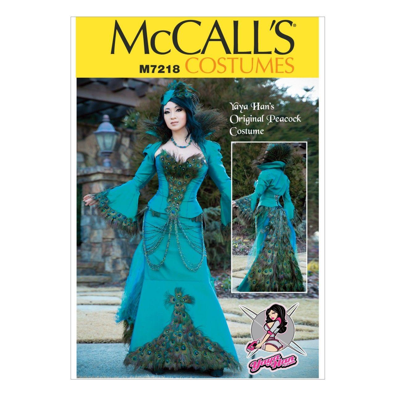 McCalls Costumes - Yaya Han Collection - Schnittmuster M-7218 ...