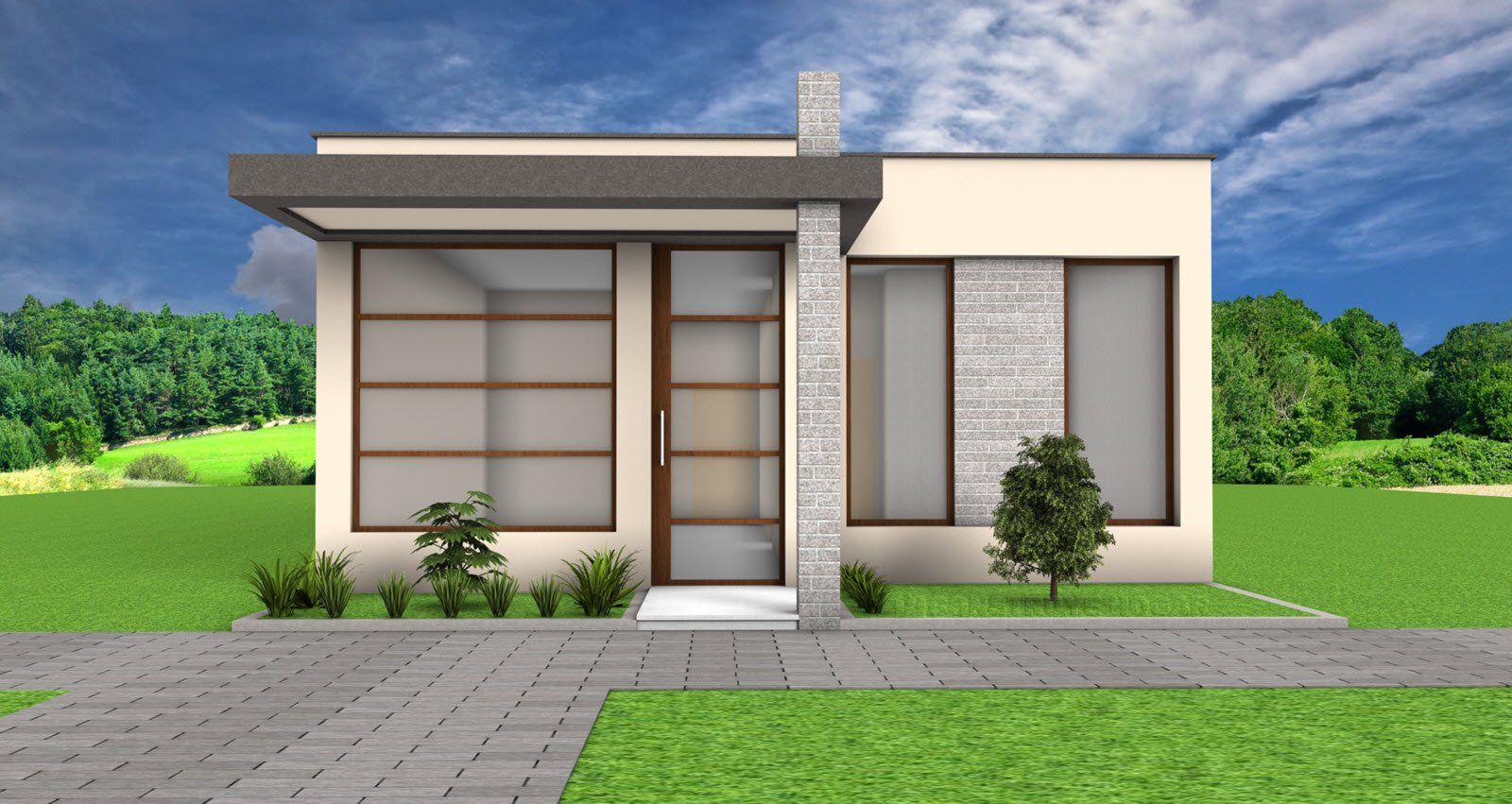Idea De Diseno Casa Pequena Un Piso Fachadas De Casas Modernas Fachada De Casa Y Diseno Casas Pequenas