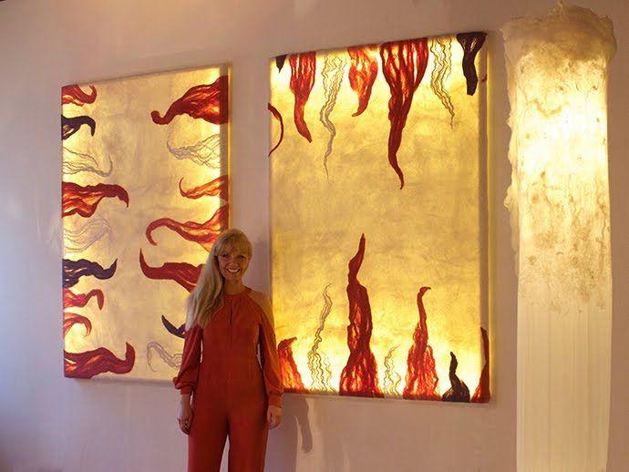 Judith Byberg Exhibiting my artcrafts at Voyage Pittoresque Factory Napoli Maggio 2016