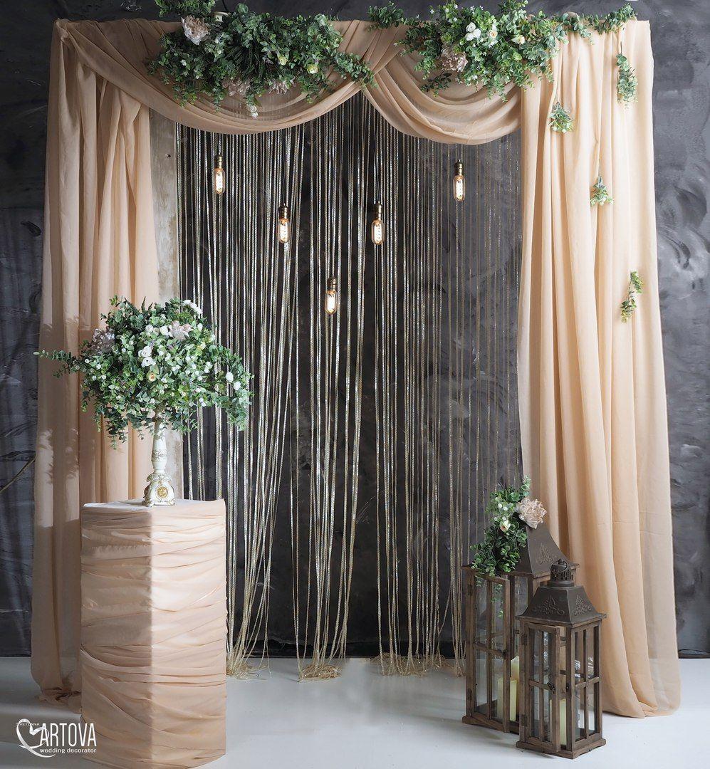 Night wedding decor ideas  Светлана Артова  Décor  Pinterest  Backdrops Wedding and Weddings
