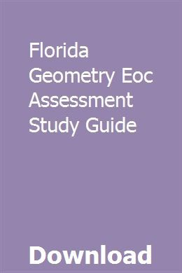 Florida Geometry Eoc Assessment Study Guide | Study guide ...