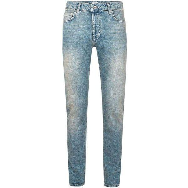 New Topman Mens Stretch Slim Fit Jeans Denim Blue Grey Skinny Trousers Pants