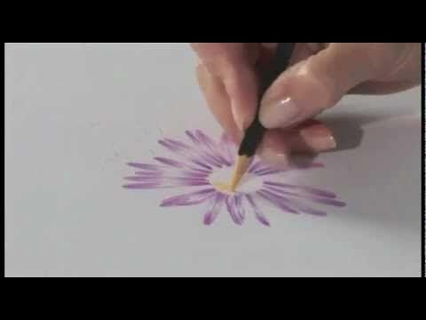 Het gebruik van Derwent Studio potloden - YouTube