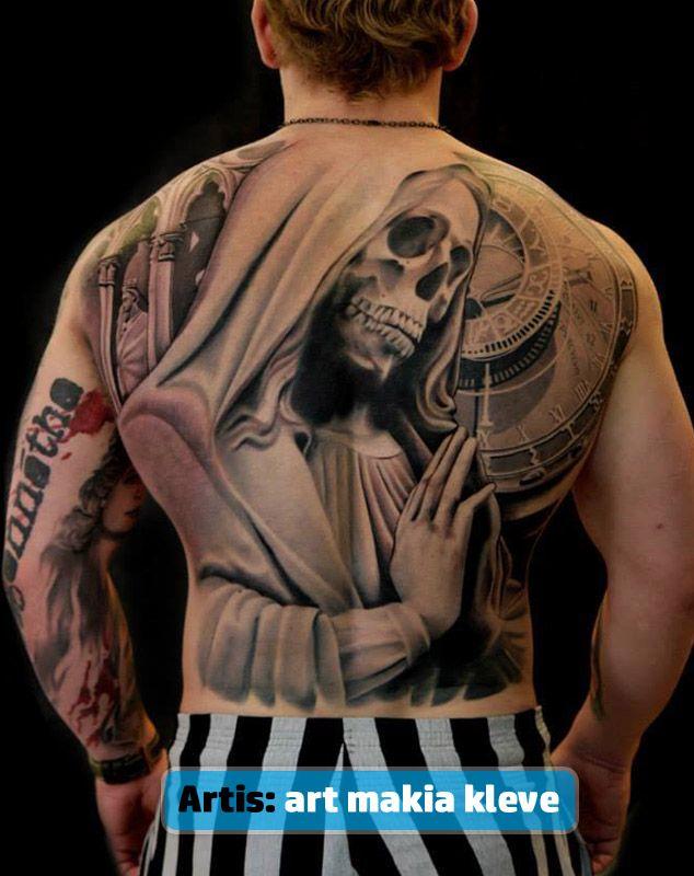 Tatuajes De La Santa Muerte Para Mujeres Y Hombres 1 Ghe Tattoos