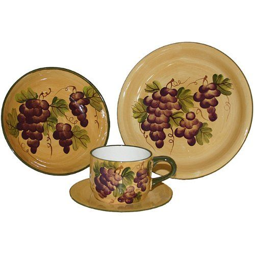 Sonoma Collection Hand-painted 16-piece Dinnerware Set ...