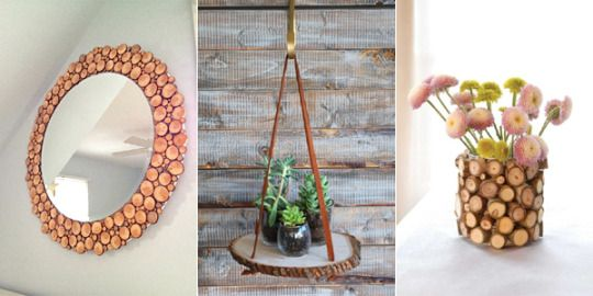 DIY Projects and Crafts — 16 Awesome DIY Wood Slice Projects Anyone Can Make  #art #diyblog #diycostume #diyprojects #easydiy