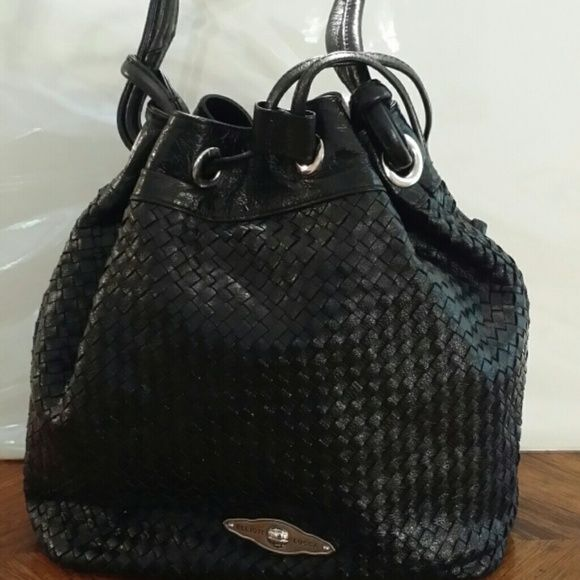 Pretty elliott lucca purse Beautiful elliott lucca basket weave draw string tassel tote. Elliott lucca  Bags