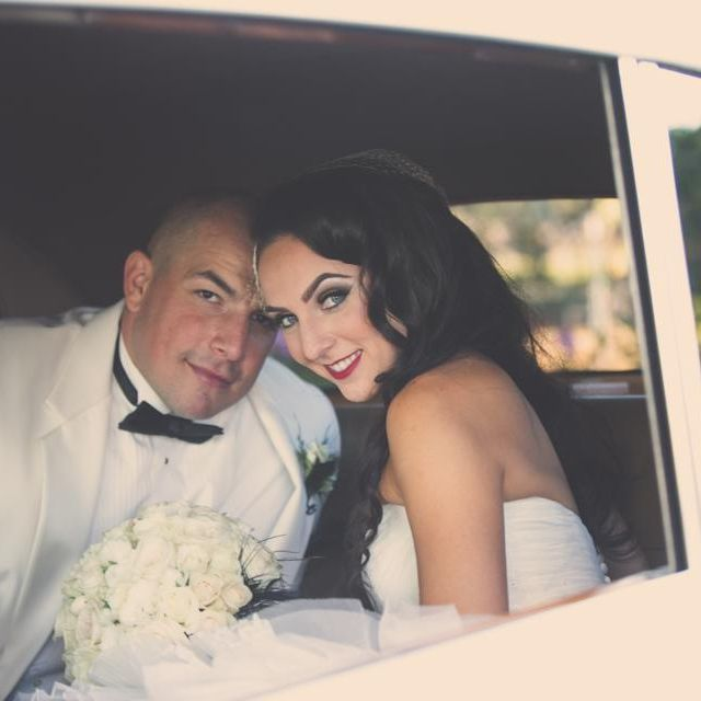 Our beautiful bride and her groom. #StylishandSavvy