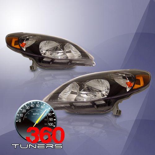 03-08 Toyota Matrix Crystal Headlights With Amber