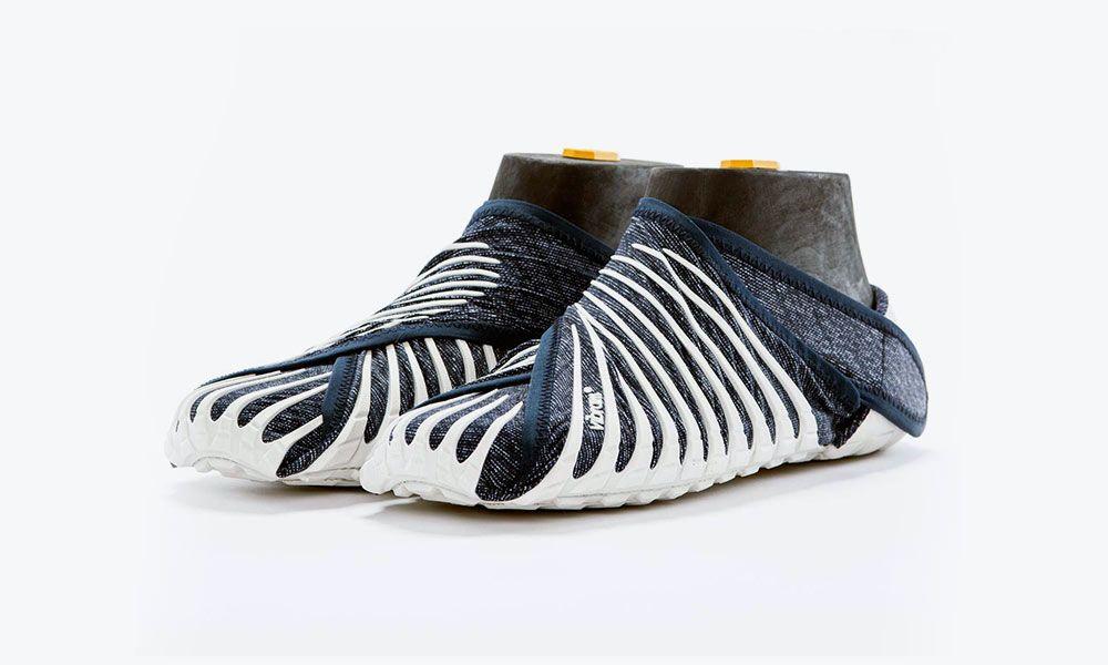 The Vibram Furoshiki Shoe Wraps Around Your Foot | Furoshiki