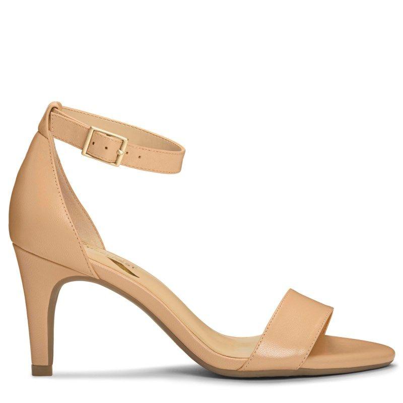 39eb45ef9e09 Aerosoles Women s Laminate Dress Sandals (Nude Leather) - 9.5 M ...