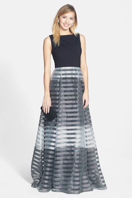 6205590980 Formal yet fun dresses for your spring summer black tie affairs